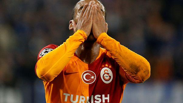 Galatasaray Schalke 04'e 2-0 yenildi