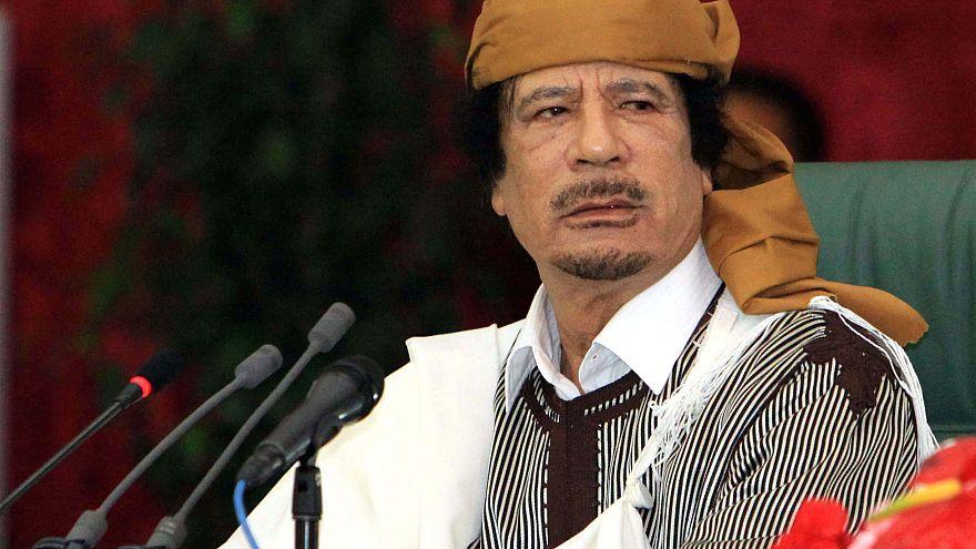 Belçika öldürülen Libya lideri Kaddafi'nin banka hesaplarındaki hareketlerin peşine düştü