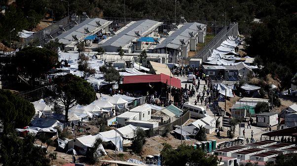 La difícil situación de los refugiados del campo de Moria