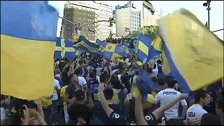توتر في الأرجنتين قبل مواجهة بوكا جونيورز وريفر بليت في نهائي كأس ليبرتادوريس