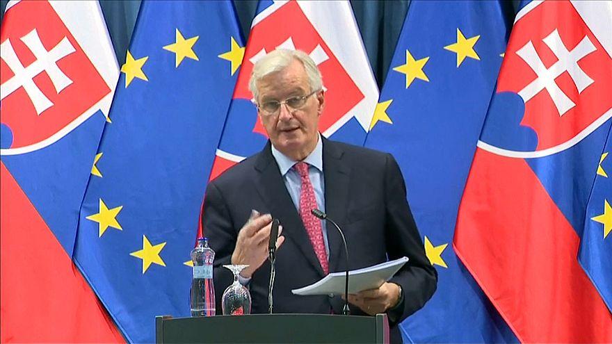 كبير مفاوضي الاتحاد الأوروبي ميشيل بارنييه