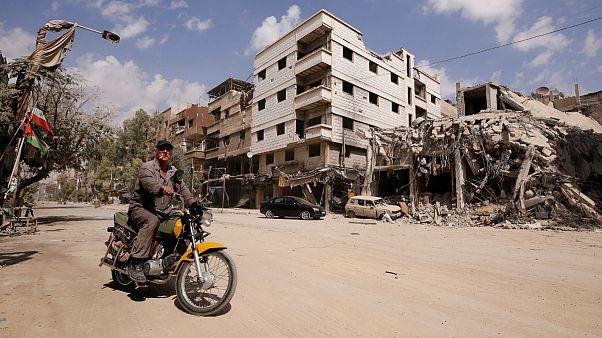 اردوگاه یرموک در جنوب دمشق
