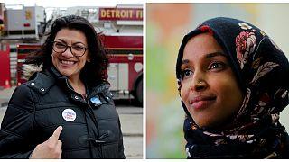 ABD Temsilciler Meclisi'nde bir ilk: Biri başörtülü iki Müslüman kadın üye