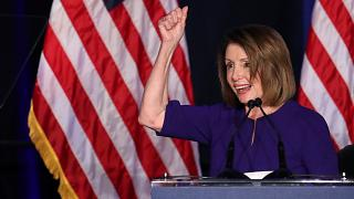 """Nancy Pelosi: """"Historischer Sieg"""" für Demokraten"""