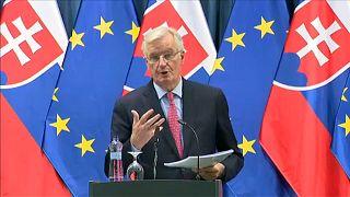 """Barnier: Meg kell akadályozni a """"kemény"""" határt"""