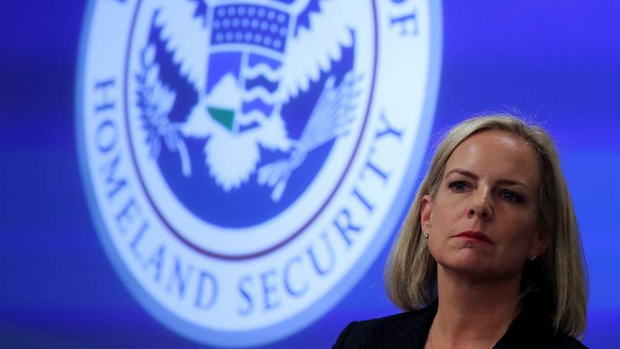 U.S. Secretary of Homeland Security Kirstjen Nielsen