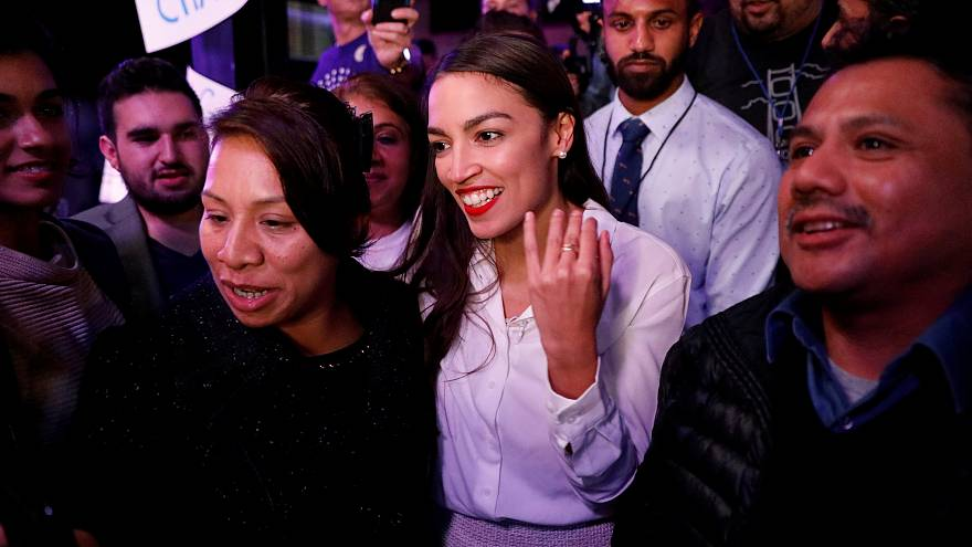 Junge politische Hoffung: Alexandria Ocasio-Cortez (29) aus New York
