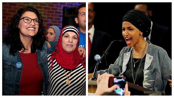 برای اولین بار در تاریخ آمریکا دو زن مسلمان به کنگره راه یافتند