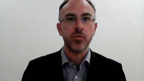 Eric Maurice, responsável da Fundação Robert Schuman, em Bruxelas