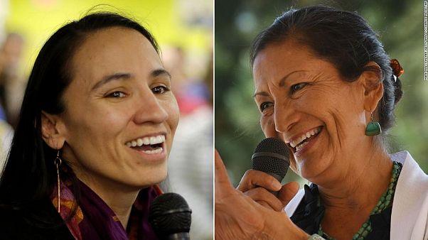ABD Kongresi'nin ilk Kızılderili kadın üyeleri