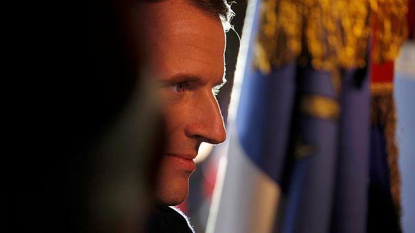 Terror plot targets Macron