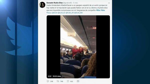 Expulsan de un avión a una pareja de ancianos españoles
