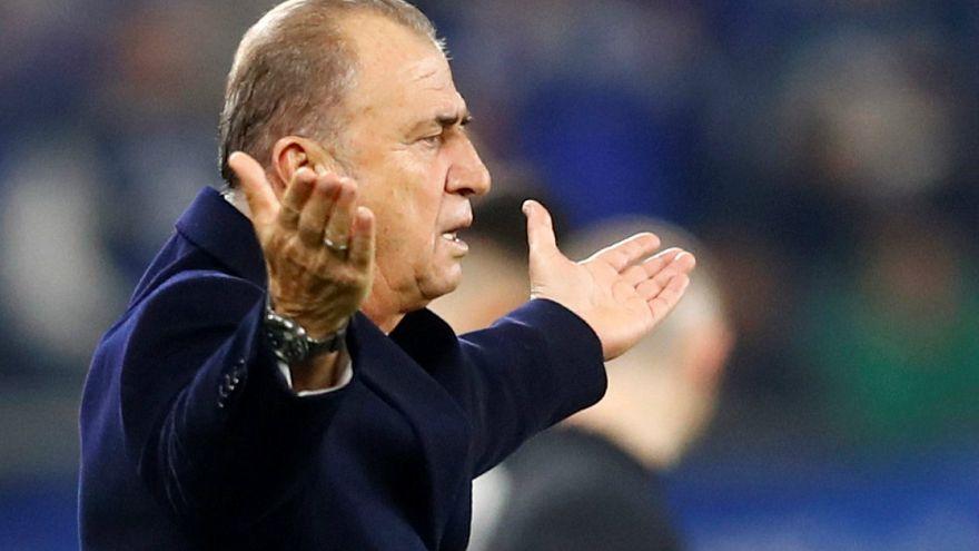 Galatasaray Shalke04 Fatih Terim