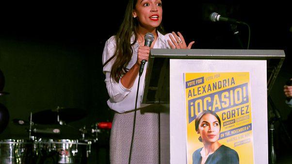 تعرف إلى الديمقراطية ألكسندريا كورتيز أصغر نائب في الكونغرس الأمريكي