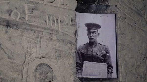 Földalatti rejtekalagutak az I. világháborúból