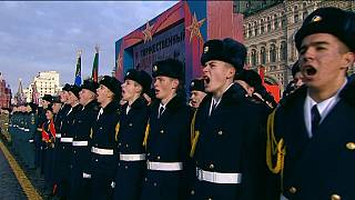 Moscow holds historic military parade on Red Square