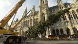 Wien: Zum Christkindlmarkt in kurzen Hosen?