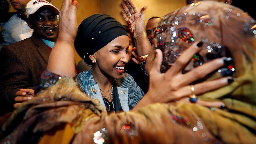 Las mujeres hacen historia en las elecciones legislativas de EEUU