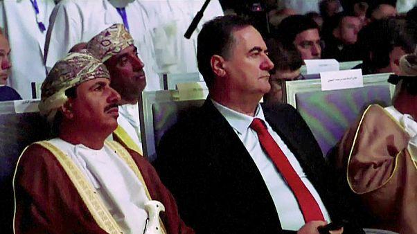 وزير الاستخبارات الإسرائيلية يسرائيل كاتس في مسقط