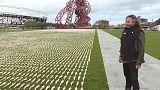 Sudarios para recordar a los británicos caídos en la Primera Guerra Mundial