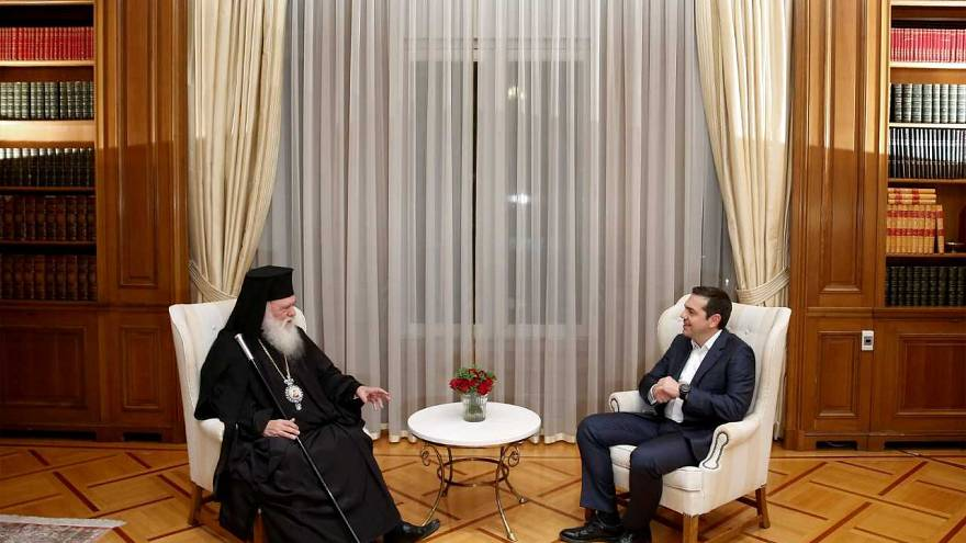 Greece strikes deal with Orthodox Church to take 10,000 clergy off payroll