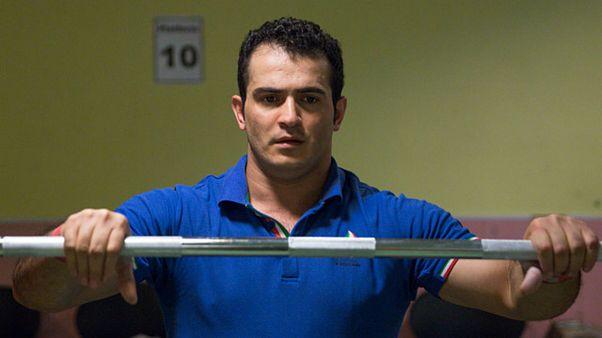 سهراب مرادی قهرمان وزنه برداری جهان