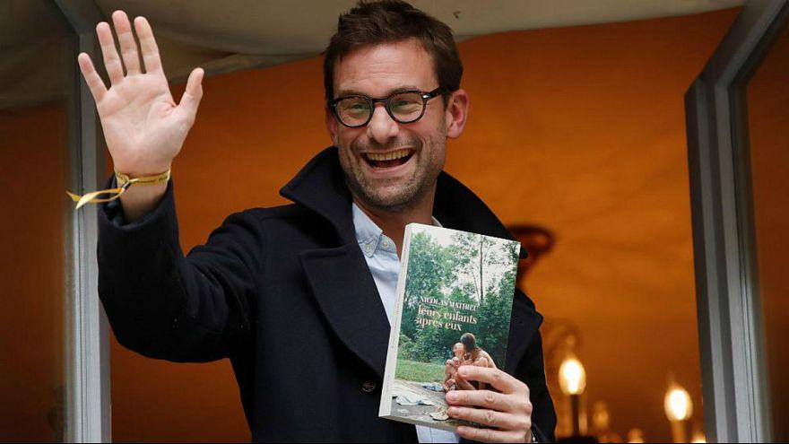 نیکلا ماتیو، برنده جایزه گنکور ۲۰۱۸ فرانسه
