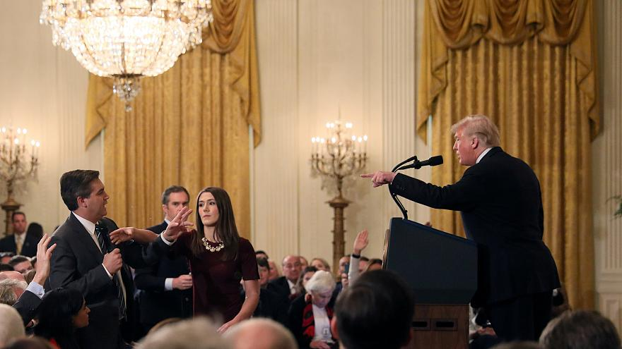 Trump CNN row takes hostility between president and media to new level