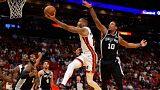 Los Heat saborean la victoria frente a los Spurs tras once derrotas