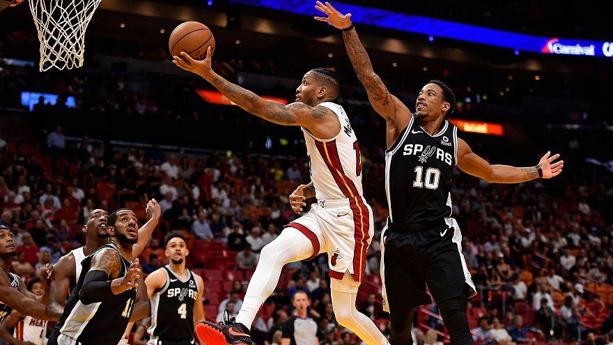 """НБА: """"Майами"""" сломили """"Шпоры"""""""