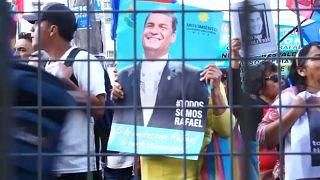 Partidarios de Correa se manifiestan en Quito