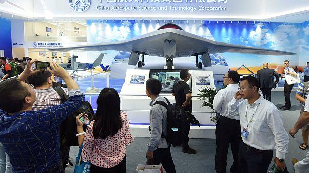 Çin'in radara yakalanmayan son nesil savaş dronu görücüye çıktı