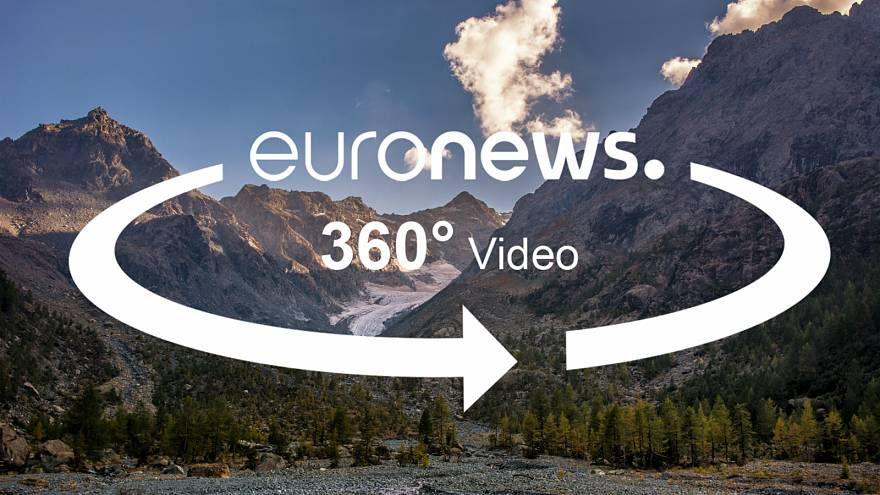 360° report: Unprecedented retreat of glacier in Italian alps