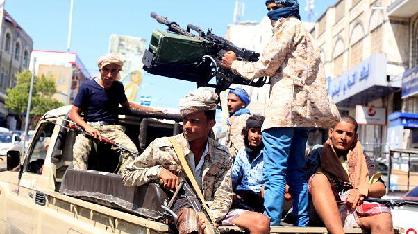 نیروهای دولتی وفادار به دولت یمن