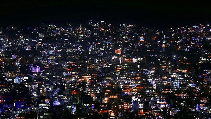 Hindus feiern Lichterfest Diwali