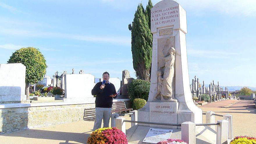 Centenaire 14-18 : à la découverte du monument aux morts pacifiste de Dardilly
