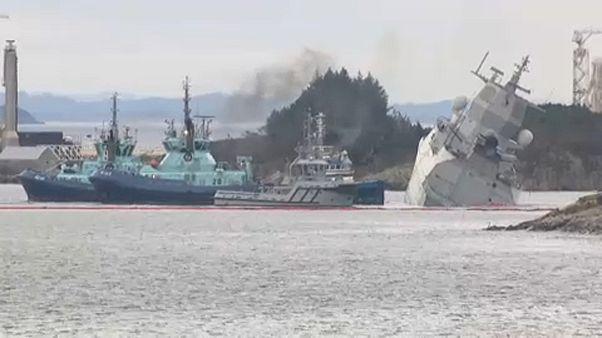 Scontro navale in Norvegia