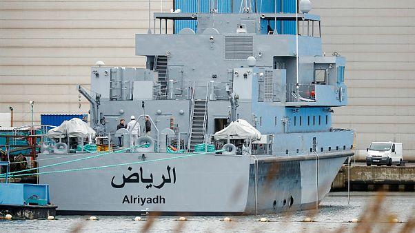 گشتی دریایی عربستان، ساخت شرکت لورسن آلمان