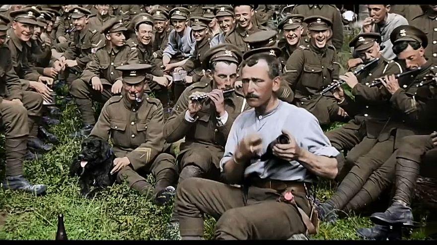 """""""لن يشيخوا"""" فيلم وثائقي يعيد الحياة إلى جنود الحرب العالمية الأولى"""