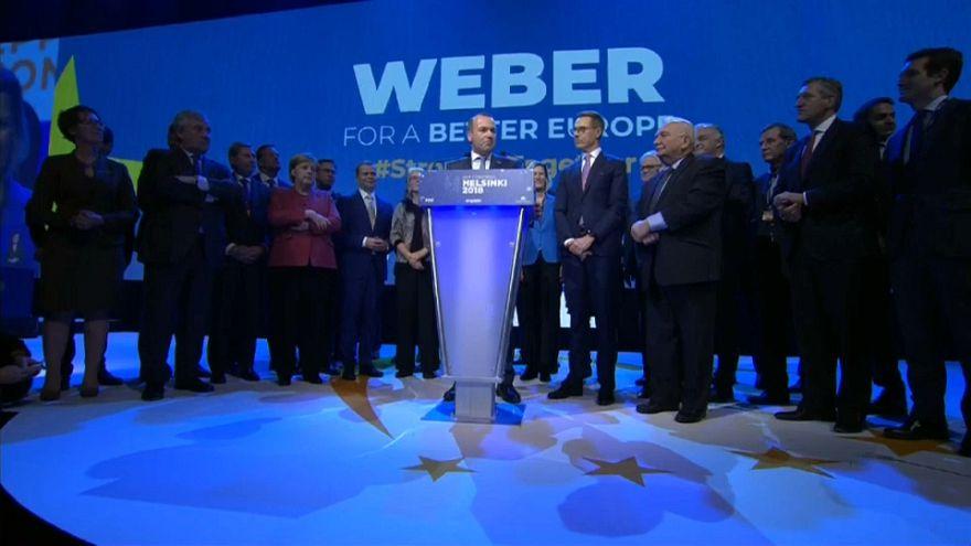 """EVP-Spitzenkandidat Weber: """"Wir wollen ein ehrgeiziges Europa"""""""