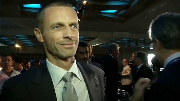 UEFA Başkanı Aleksander Ceferin seçime tek aday olarak giriyor