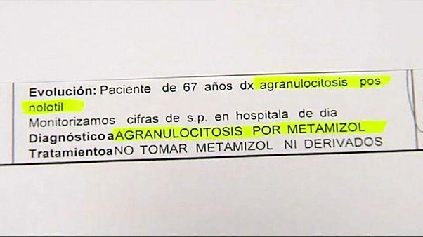 España: sanidad recomienda no vender ni recetar Nolotil a turistas