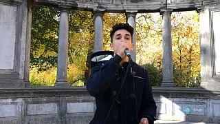 المغني المغربي الهاوي يوسف زكي