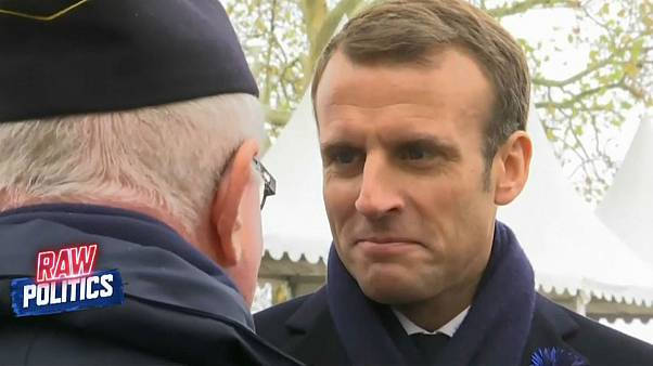 Macron under fire for calling Nazi collaborator a 'great soldier' | Raw Politics