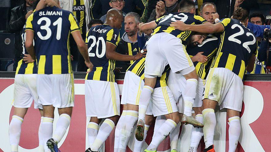 Avrupa Ligi: Fenerbahçe yendi, Beşiktaş berabere kaldı, Akhisar yenildi