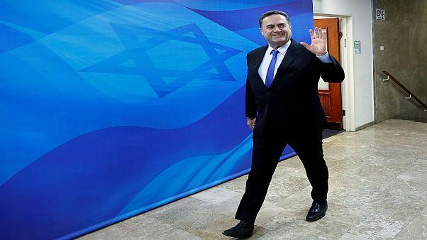 وزير المخابرات الإسرائيلي إسرائيل كاتس في القدس يوم 12 سبتمبر أيلول 2018