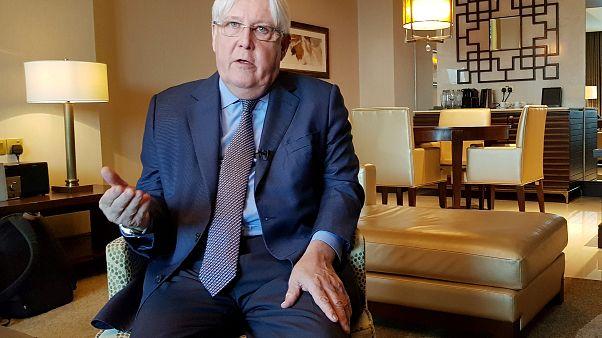 المبعوث الأممي إلى اليمن مارتن غريفيث في أبوظبي 04-10-2018