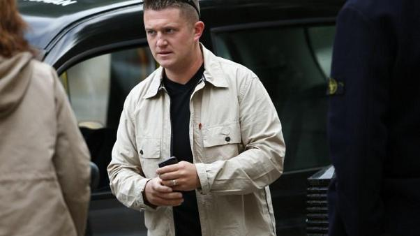 PayPal UK stops payments to Tommy Robinson
