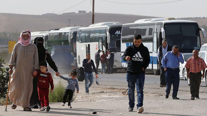 Ürdün Suriye sınırı