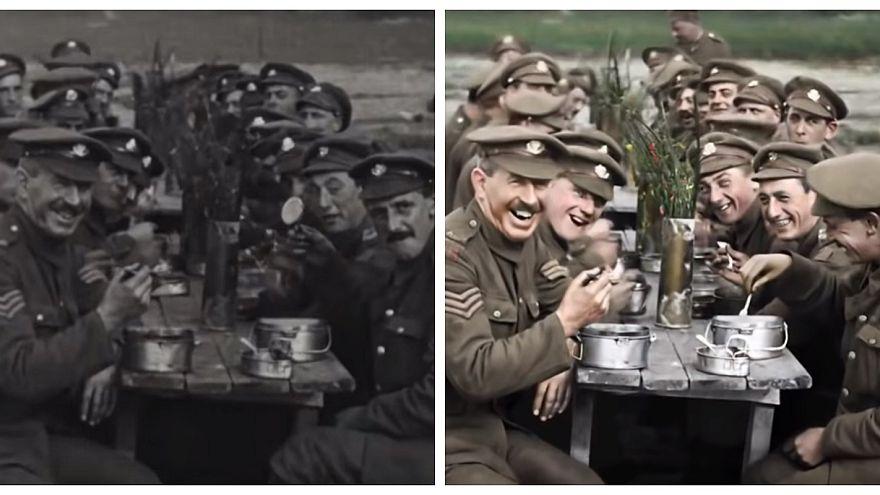 La Grande Guerre en couleurs